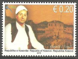 Kosovo 2015 Music, Rhapsodists, Definitive Stamp, Reprint Mi.Nr.265 MNH - Kosovo