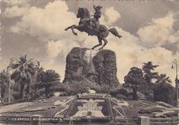 LA SPEZIA - MONUMENTO A G. GARIBALDI  VG AUTENTICA 100% - La Spezia