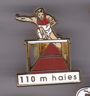 Pin's 110 Metres HAIES SIGNE ARTHUS BERTRAND - Atletica