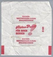 Suikerwikkel.- VIELEN DANK FÜR IHREN BESUCH! ZUCKER-VERTRIEBSGES M.B.H. BRAUNSCHWEIG. Sugar. Zucchero. Suiker. - Sugars