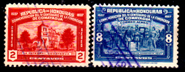 Honduras-0045 - Posta Aerea 1937: Valori Della Serie Y&T N 80-83 (o) Used - - Honduras