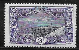 Cote Des Somalis N°98 - Neuf * Avec Charnière - TB - Unused Stamps