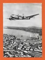 AVION AIR FRANCE, LANGUEDOC 161 Survolant Genève - 1946-....: Ere Moderne