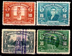 Honduras-0046 - Posta Aerea 1939: Valori Della Serie Y&T N 84-93 (o) Used - - Honduras