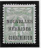 Nouvelles Hébrides N°1 - Neuf * Avec Charnière - B/TB - Neufs