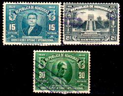 Honduras-0047 - Posta Aerea 1939: Valori Della Serie Y&T N 84-93 (o) Used - - Honduras