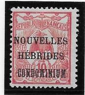 Nouvelles Hébrides N°2 - Neuf * Avec Charnière - TB - Légende Française