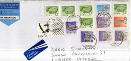 PIA - IRLANDA - 1998 :  Francobolli Su Lettera - Stamps On Letter - Tps Sur Lettre - FDC