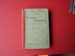 1907 LECTURES PRIMAIRES PAR E.TOUTEY - Books, Magazines, Comics