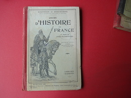 1923 COURS D'HISTOIRE DE FRANCE COURS ELEMENTAIRE - Books, Magazines, Comics