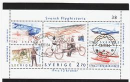 XXX750 SCHWEDEN 1984 Michl Block 12 Gestempelt / Entwertet SIEHE ABBILDUNG - Schweden
