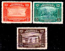 Honduras-0051 - Posta Aerea 1942: Valori Della Serie Y&T N 111-118 (sg/o) NG/Used - - Honduras