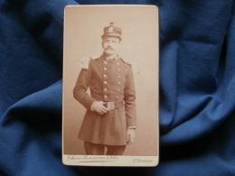 Photo CDV Chéri Rousseau à Saint Etienne - Militaire Affecté Au Corps D'état Major Vers 1890 L374 - Photographs