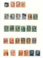 US Old Stamp Collection Classic Lot, Kl. Sammlung Alt USA Klassik - Vereinigte Staaten