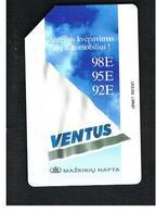 LITUANIA (LITHUANIA) -  1997 VENTUS PETROL - USED - RIF. 10604 - Lituania