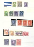 Honduras Old Stamp Collection Classic Lot, Kl. Sammlung Alt Honduras Klassik - Honduras