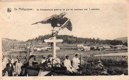 De Philippijnen - De Amerikaansche Arend Op Het Graf Der Martelaars Voor 't Vaderland - 1927 - Philippines
