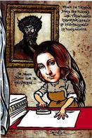 CPM Repassage Fer à Repasser Jihel Tirage Signé Numéroté En 30 Exemplaires Joconde Mona Lisa PELADAN - Artisanat