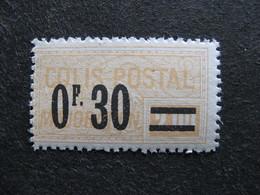 B). TB Timbre Colis Postaux N° 35, Neuf XX. - Neufs