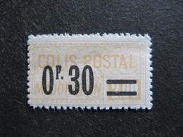 C). TB Timbre Colis Postaux N° 35, Neuf XX. - Colis Postaux