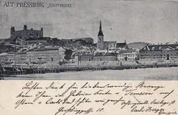 Bratislava - 1898  ,  K.KORPER , Pontonovy Most , Dunaj - Slovaquie