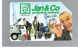 LITUANIA (LITHUANIA) -  1997 JAN & CO, BOX SYSTEMS                 - USED - RIF. 10613 - Lituania