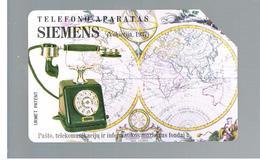 LITUANIA (LITHUANIA) -  1997 TELEPHONES: SIEMENS 1937                  - USED - RIF. 10616 - Lituania