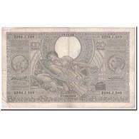 Billet, Belgique, 100 Francs-20 Belgas, 1935, 1935-11-19, KM:107, TTB - [ 2] 1831-... : Regno Del Belgio