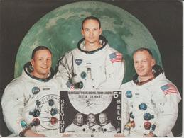 Belgique Carte Maximum 1969 L'Homme Sur La Lune 1508 - Cartes-maximum (CM)