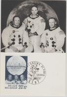Belgique Carte Maximum 1969 L'Homme Sur La Lune 1509 - Cartes-maximum (CM)