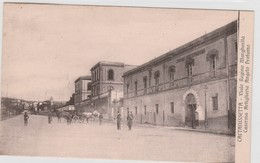 Cartolina -  Caltanissetta - Viale Regina Margherita - Caserma Artiglieria Angelo Profumo - Caltanissetta