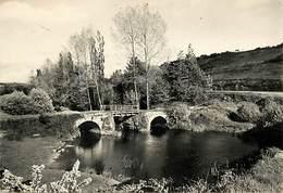 - Ref-W575- Finistere - Carhaix Plouguer - Vieux Pont Du Moulin De Meur - Carte Bon Etat - - Carhaix-Plouguer