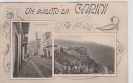Cartolina -  Un Saluto Da Carini - Palermo