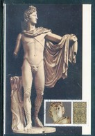 Vatican - Carte Maximum 1977 - Art - Statue De Apollon - Maximum Cards