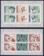 SOVIET UNION 1975 Michelangelo Quincentenary Sheetlets MNH / **.  Michel 4329-34 Kb - 1923-1991 USSR