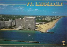 CPM Etats Unis, Fort Lauderdale Entrance To Port Everglades - Fort Lauderdale