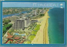 CPM Etats Unis, Fort Lauderdale Coastline Beaches - Fort Lauderdale