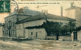 CHARNY Sur MEUSE Maison Où Furent Tué Deux Officiers Allemands En 1870 - Altri Comuni