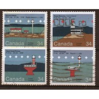 Canadian Lighthouses 2nd Series From 1985.  This Set Is In Fine Used Condition. - 1952-.... Reign Of Elizabeth II