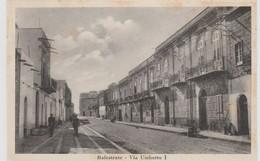 Cartolina -  Balestrate - Via Umberto I - Palermo