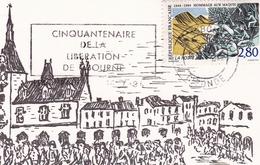 Gironde Libération  Libourne Archives Municipales Association Philatélique Maquis Résistance - Libourne