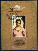 SOVIET UNION 1977 Giorgione Quincentenary Block Used..  Michel Block 119 - 1923-1991 USSR