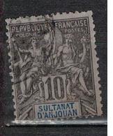 ANJOUAN         N°  YVERT    5     ( 3 )           OBLITERE       ( O   3/06 ) - Anjouan (1892-1912)