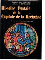 Geroteo / Bernadas : Histoire Postale De La Capitale De Bretagne 330 P 1979 - Autres