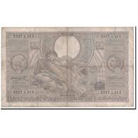 Billet, Belgique, 100 Francs-20 Belgas, 1935, 1935-11-27, KM:107, TB - [ 2] 1831-... : Belgian Kingdom
