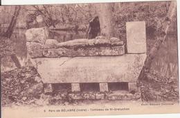 CPA -  6. Parc De BELABRE (Indre) - Tombeau De St Greluchon - France