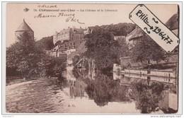 18 Châteauneuf-sur-Cher - Cpa / Le Château Et Le Déversoir. - Chateauneuf Sur Cher