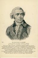 Du Chaffault De Besné Louis-Charles De Rezay Comte Et Amiral Né à Nantes 1708 Chef D'Escadre Lieutenant-Général  Cpa - Politicians & Soldiers