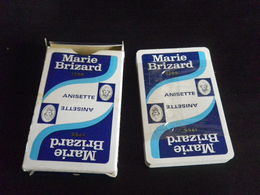 Jeu De 32 Cartes à Jouer - MARIE BRIZARD ANISETTE - 32 Cards