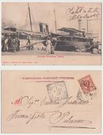 Napoli - Piroscafo Principessa Jolanda, 1905 - Napoli (Naples)